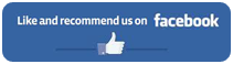 Like and recommend us on facebook