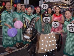 Kona Coffee Cultural Festival Lantern Parade @ Alii Drive, starting at Kailua Pier to Hale Halawai