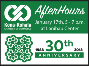 Kona-Kohala Chamber of Commerce Networking Event - AfterHours @ Lanihau Center  | Kailua-Kona | Hawaii | United States