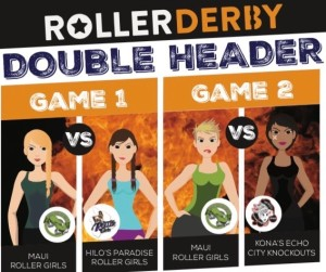 Roller Derby Game @ Old Airport Hockey Rink | Kailua-Kona | Hawaii | United States