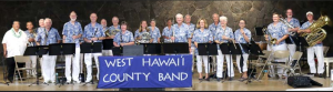 The West Hawai'i County Band Presents a Free Friday Concert @ Hale Halewai County Park | Kailua-Kona | Hawaii | United States
