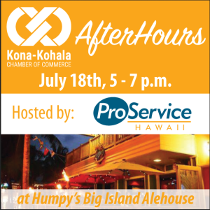 AfterHours Chamber Monthly Networking Event @ Humpy's Big Island Alehouse | Kailua-Kona | Hawaii | United States