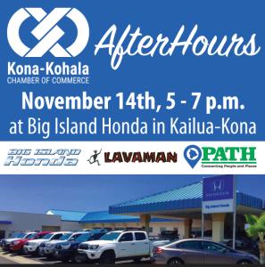 AfterHours Networking Event with the Kona-Kohala Chamber @ Big Island Honda | Kailua-Kona | Hawaii | United States