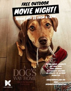 Outdoor Movie Night at Kona Commons @ Kona Commons
