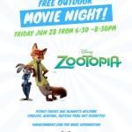 KON Zootopia Movie Night_22x28 2019