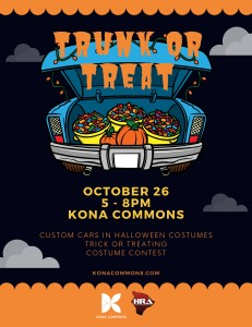 Trunk or Treat  @ Kona Commons