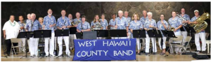 The West Hawai'i County Band Concert  @ Hale Halawai County Pavilion